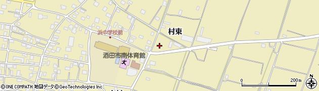 山形県酒田市浜中村東1345周辺の地図