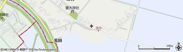 山形県東田川郡庄内町落合落合49周辺の地図