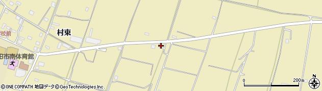山形県酒田市浜中村東1383周辺の地図
