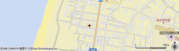 山形県酒田市浜中上村282周辺の地図