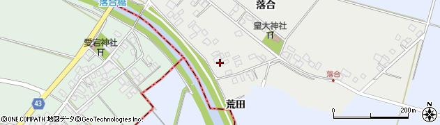 山形県東田川郡庄内町落合落合105周辺の地図