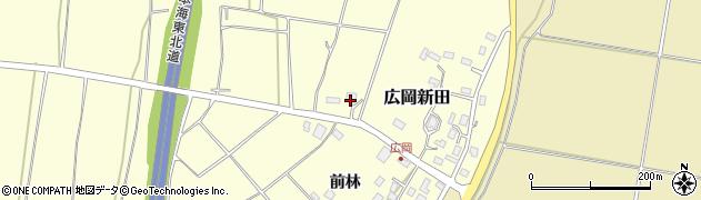山形県酒田市広岡新田444周辺の地図