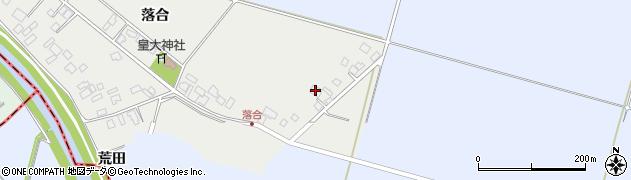 山形県東田川郡庄内町落合落合19周辺の地図