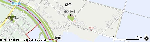 山形県東田川郡庄内町落合落合70周辺の地図