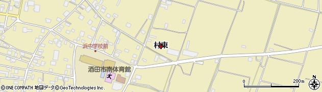 山形県酒田市浜中(村東)周辺の地図