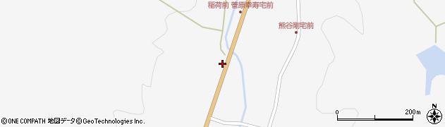 宮城県栗原市金成稲荷前周辺の地図