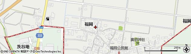 山形県酒田市広野福岡169周辺の地図