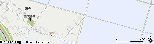 山形県東田川郡庄内町落合落合25周辺の地図