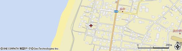 山形県酒田市浜中上村63周辺の地図
