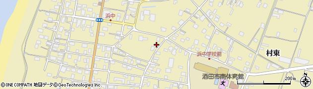 山形県酒田市浜中上村358周辺の地図