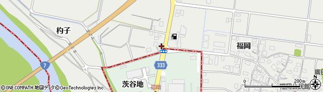 山形県酒田市広野福岡502周辺の地図
