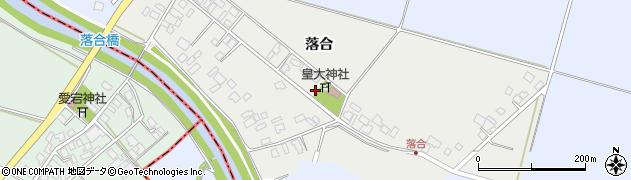 山形県東田川郡庄内町落合落合48周辺の地図