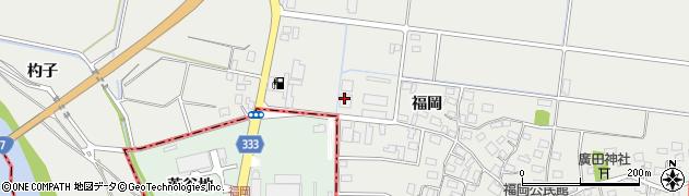 山形県酒田市広野福岡460周辺の地図