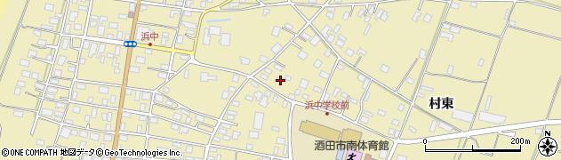 山形県酒田市浜中下村363周辺の地図