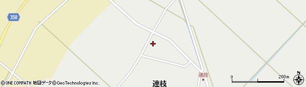 山形県東田川郡庄内町連枝沼端111周辺の地図
