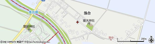 山形県東田川郡庄内町落合落合77周辺の地図