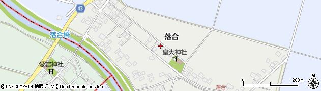 山形県東田川郡庄内町落合落合54周辺の地図