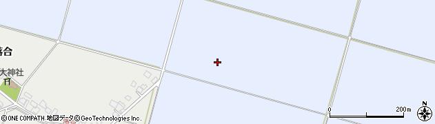 山形県東田川郡庄内町家根合四ツ屋裏周辺の地図