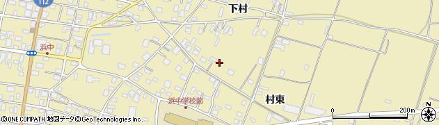 山形県酒田市浜中下村571周辺の地図