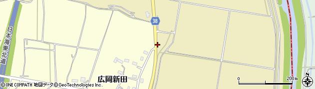山形県酒田市浜中細縄周辺の地図