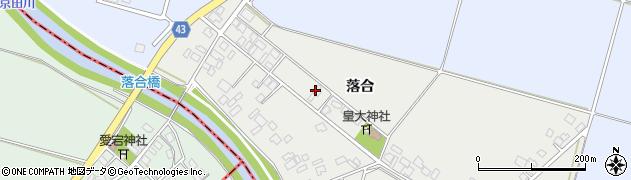 山形県東田川郡庄内町落合落合55周辺の地図