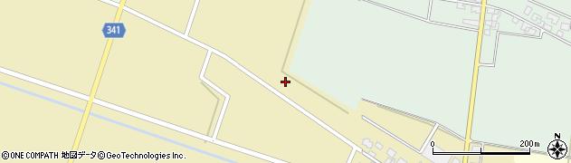 山形県東田川郡庄内町吉岡西北裏周辺の地図