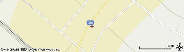 山形県東田川郡庄内町小出新田苧畑割2周辺の地図
