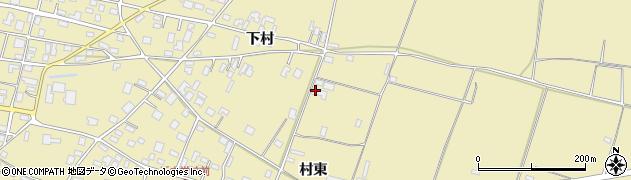 山形県酒田市浜中村東1415周辺の地図