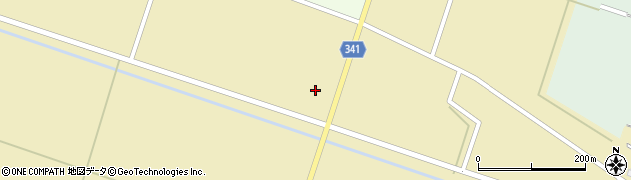 山形県東田川郡庄内町吉岡道端周辺の地図