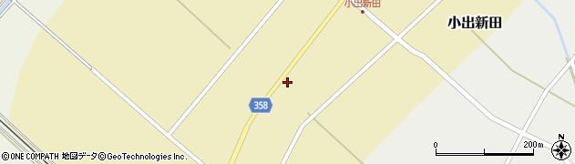 山形県東田川郡庄内町小出新田苧畑割8周辺の地図