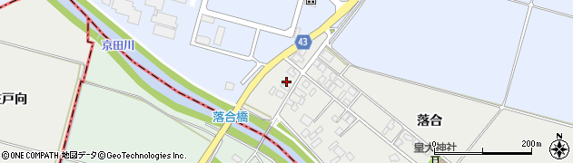 山形県東田川郡庄内町落合落合153周辺の地図
