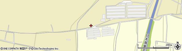 山形県酒田市広岡新田前林396周辺の地図