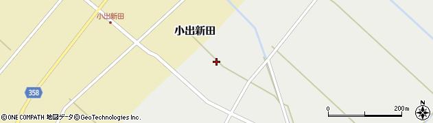 山形県東田川郡庄内町赤渕新田二番割周辺の地図