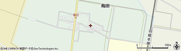 山形県東田川郡庄内町島田谷地古田3周辺の地図