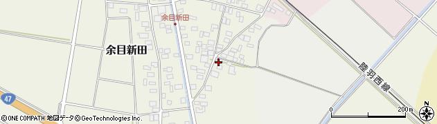 山形県東田川郡庄内町余目新田東町31周辺の地図
