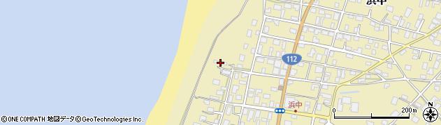 山形県酒田市浜中下村115周辺の地図