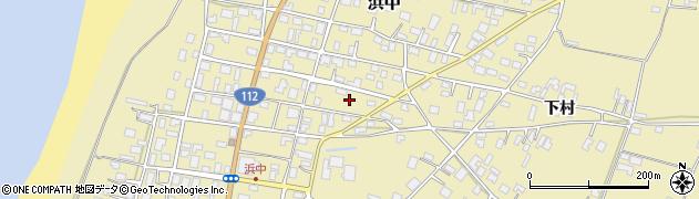 山形県酒田市浜中下村267周辺の地図