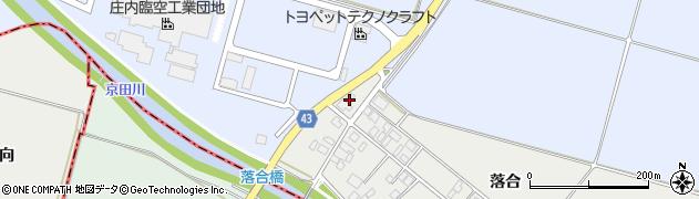 山形県東田川郡庄内町落合落合165周辺の地図