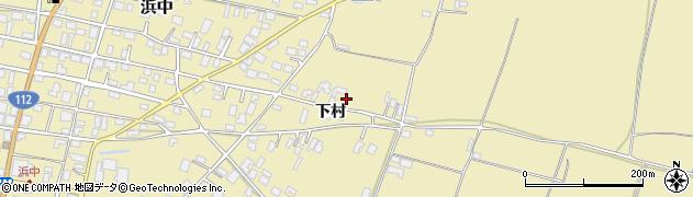 山形県酒田市浜中下村512周辺の地図