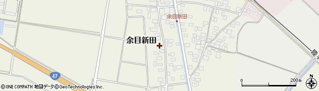 山形県東田川郡庄内町余目新田西町41周辺の地図