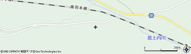山形県最上郡鮭川村京塚244周辺の地図