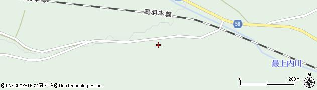 山形県最上郡鮭川村京塚277周辺の地図