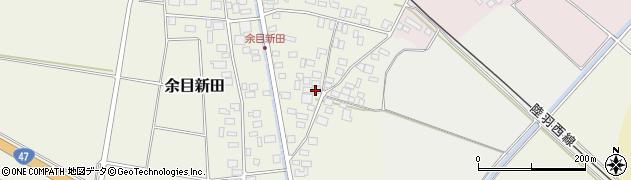 山形県東田川郡庄内町余目新田東町49周辺の地図