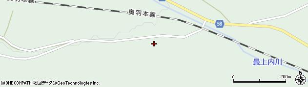 山形県最上郡鮭川村京塚249周辺の地図