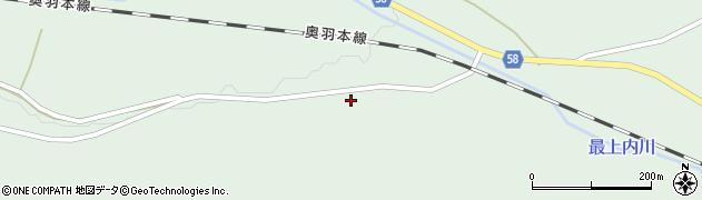 山形県最上郡鮭川村京塚274周辺の地図