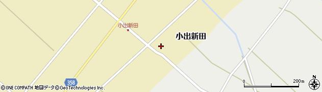 山形県東田川郡庄内町小出新田苧畑割161周辺の地図