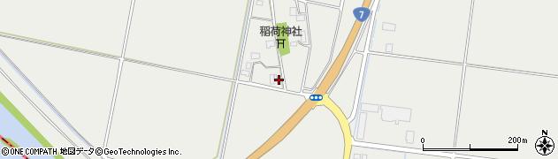 山形県酒田市広野興屋112周辺の地図