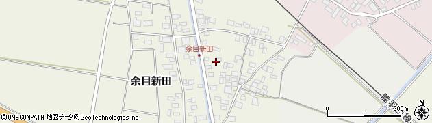 山形県東田川郡庄内町余目新田東町48周辺の地図