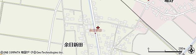 山形県東田川郡庄内町余目新田向町17周辺の地図