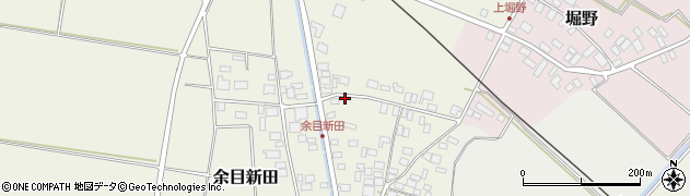 山形県東田川郡庄内町余目新田向町15周辺の地図
